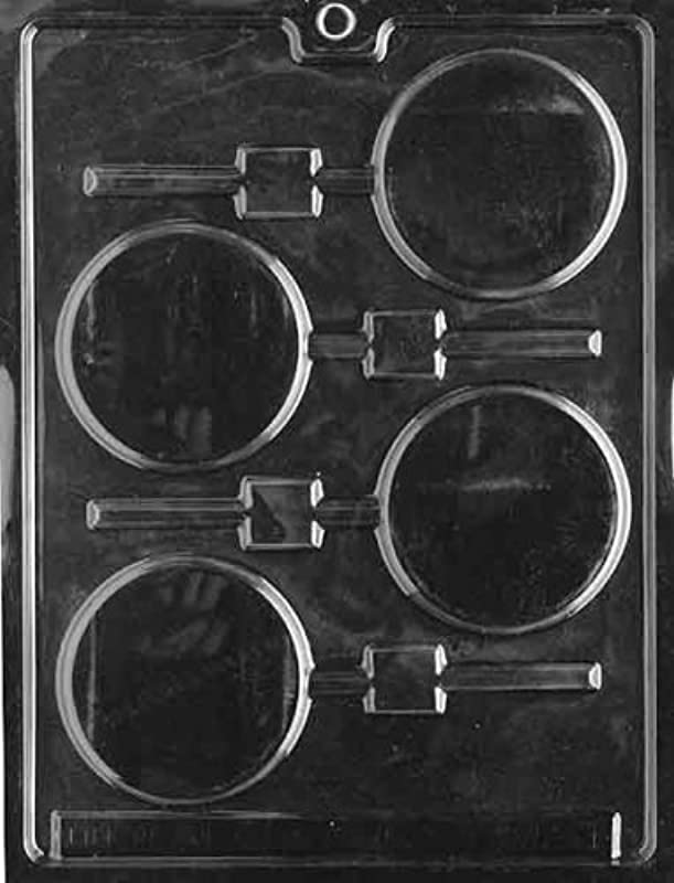 Cybrtrayd M011 Plain Lolly Miscellaneous Chocolate Candy Mold