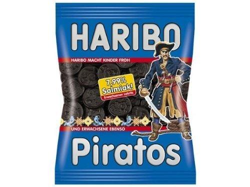 4x Haribo PIRATOS each Bag 200g (German Import)