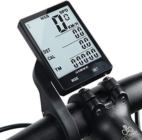 Regen teller multifunctionele Cadence computer klokcyclussen fietscomputer draadloos fietsen backlight 2.8 inch