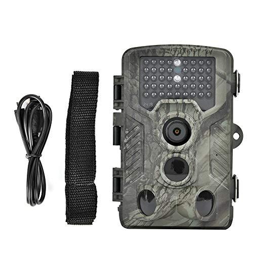 GUSTAR Sensor de Movimiento infrarrojo Cámara de Caza Impermeable Cámara de Caza Alcance de visión Nocturna 65 pies