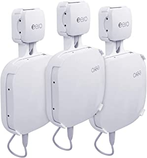 HOLACA Outlet Mount Hanger for eero Home WiFi and eero Pro Mesh WiFi System-Easily Be Moved-Saving Space-No Messy Wires an...