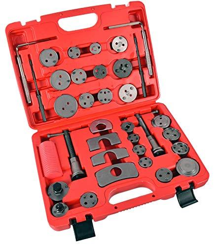 35 Teiliges Profi Bremsen Rücksteller Bremskolbenrücksteller Satz Werkzeug Ford Audi VW BMW Bremsscheiben- Bremsbacken- oder Bremsbelag-Wechsel