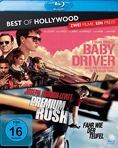 Baby Driver/Premium Rush - Best of Hollywood [Blu-ray]