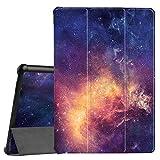 Fintie Hülle Hülle für Huawei MediaPad T5 10 - Ultra Dünn Superleicht Flip Schutzhülle mit Zwei Einstellbarem Standfunktion für Huawei MediaPad T5 10 10.1 Zoll 2018 Tablet PC,Die Galaxie