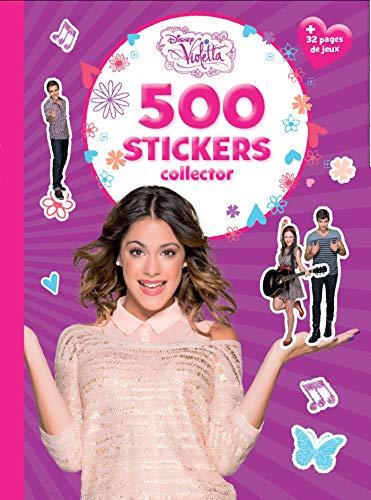 Violetta, 500 stickers collector