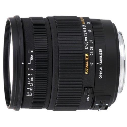 Sigma 17-70mm F2,8-4,0 DC Makro OS HSM Objektiv (72mm Filtergewinde) für Pentax (Generalüberholt)