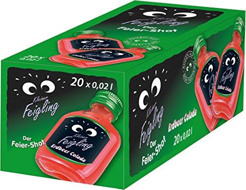 Kleiner Feigling Erdbeer Colada (20 x 0,02l) Marken – Spirituose aus Deutschland