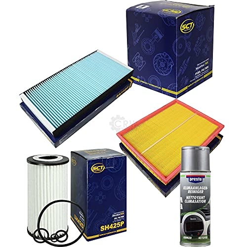 QR-Parts Set 85562663 SH 425 P SB 632 ST 760 SA 1127 215995 SCT FILTER + pulitore Presto