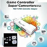 【PS4用ラバーパッドセット】PS3コントローラーをPS4やPCで使用可能にするコントローラーコンバーター Brook PS3 to PS4 Controller Adapter VENOMより安価 [CXD1077] [並行輸入品]