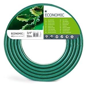 Cellfact 10-022 Economic – Manguera de jardín, color verde, 3/4″, 50 m