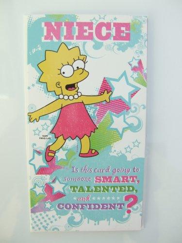 Simpsons Geburtstagskarte für die Nichte mit Hallmark jedes Alter