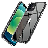 【Caseology】 iPhone 12 mini ケース 硬度9H 透明 プレミアム 強化 ガラス iPhone12 mini カバー 耐久性 全面保護 傷防止 側面 TPU カペラ (クリスタル・クリア)