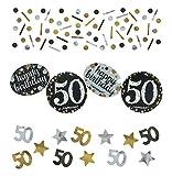 Amscan 360191 - Konfetti 50 Sparkling Celebration,