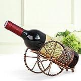 Estante De Vino Accesorios De Barra De Cocina Para El Hogar Estante De Vino Práctico Estante De Exhibición De Decoración De Botellas De Vino Y Estante De Bronce Antiguo Vinotecas Copas De Vino