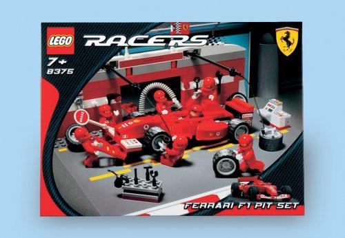 LEGO Racers 8375 - Ferrari F1 Pit Set