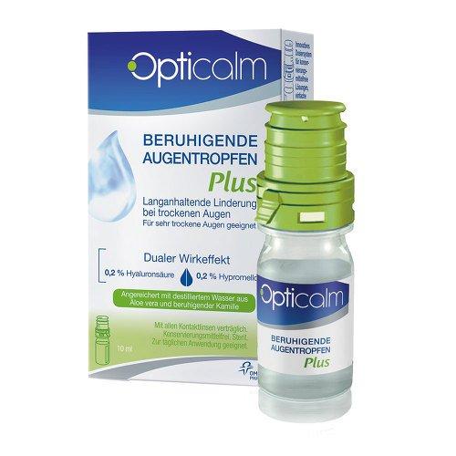 Opticalm beruhigende Augentropfen Plus, 10 ml