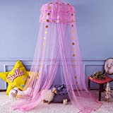 Twinkle Star Kids Netting Princess Bed Canopy 3...