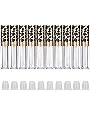 SunshineFace Hervulbare Lip Gloss Fles,DIY Lege Lip Oil Tube Container Make-up Tool (10 stks 5ml)
