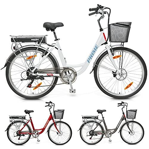 HECHT leichtes 26 Zoll City E-Bike...