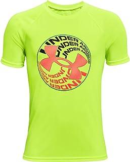 Under Armour Boys' Tech Glow Circle Short-Sleeve T-Shirt