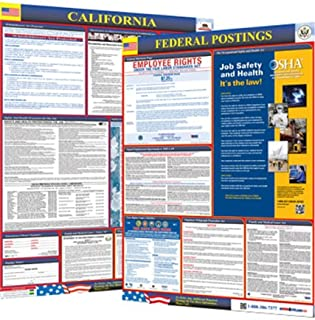 Osha4less 2019 California State and federal labor law posters