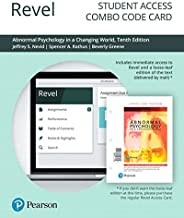Revel for Abnormal Psychology in a Changing World -- Combo Access Card (10th Edition)
