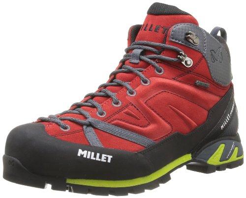 Millet MIG1278, Botas de Montaña Hombre, Rojo (0335 Red/Rouge), 41 1/3 EU