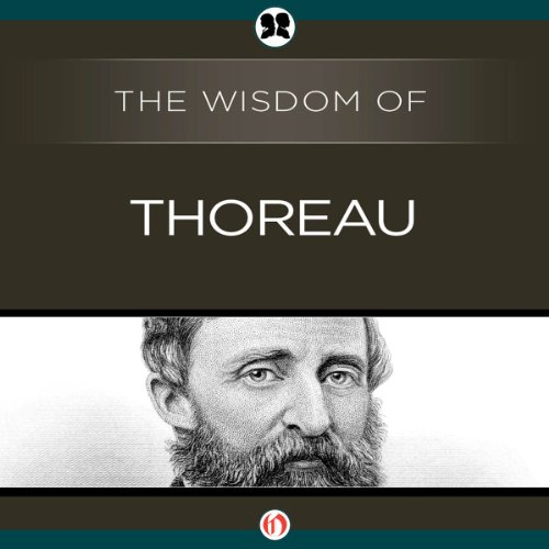 Wisdom of Thoreau audiobook cover art