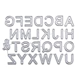 Fustelle per Scrapbooking, FNKDOR Metallo Fustella Cutting Dies Stencil DIY Scrapbooking Album Foto, Accessori per Big Shot e Altre Macchina (H)