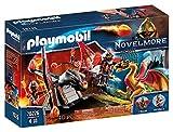 PLAYMOBIL Novelmore 70226 Entrenamiento del Dragón Bandidos Burnham, Para Niños de 4 a 10 Años de Edad