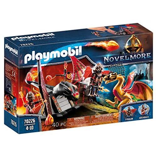 PLAYMOBIL Novelmore 70226 - Addestramento dei draghi di Burnham, Dai 4 ai 10 anni