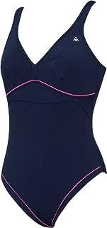 Women's Felicity One Piece Swimsuit, Navy Blue Pink