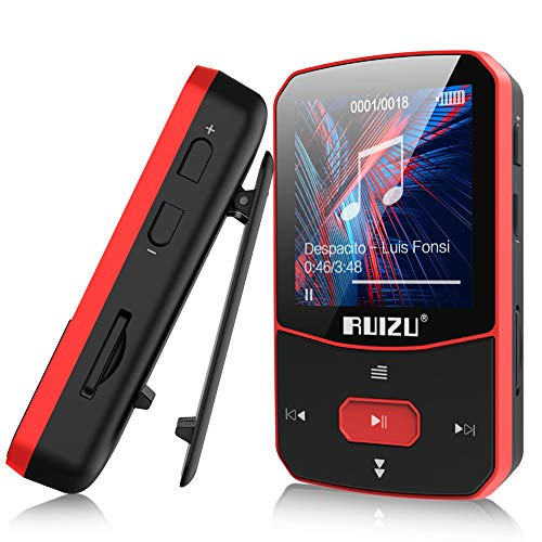 Clip Mp3 Player with Bluetooth 5.0, 16GB Lossless Sound Music Player, with FM Radio Voice Recorder...