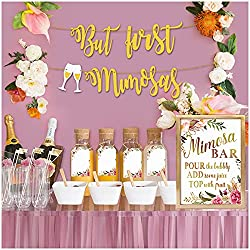 Mimosa bar party decor package