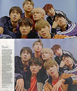 TIME Asia Magazine 04/29/2019 with Special BTS 2-Sided Photocard (BTS are in 100 Most Influential People List of 2019 and Halsey Wrote The Paragraph About Them.)
