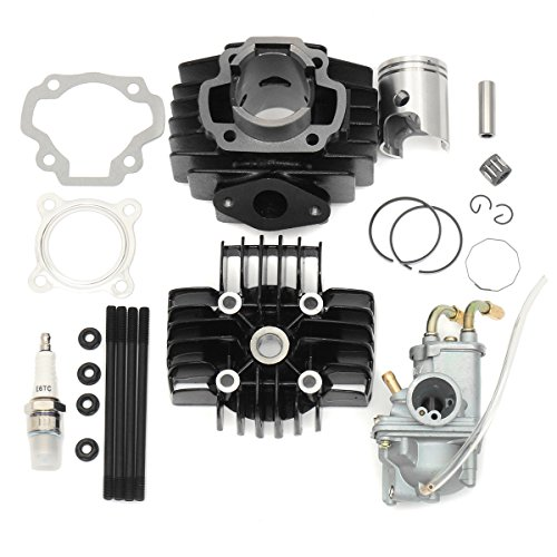 Forspero Carburateur Cylindre Piston Joint Ring Kit Haut de Gamme pour Yamaha PW 50 PW50 1981-09