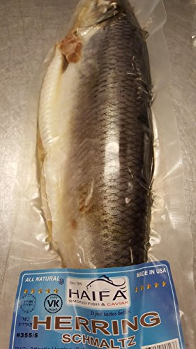 Schmaltz Herring 2 pcs. Includes Express Delivery