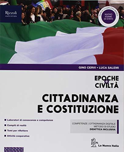 Epoche e civiltà. Cittadinanza e Costituzione. Per la Scuola media. Con ebook. Con espansione online