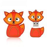 Shooo 32GB zorro dibujos animados memoria USB