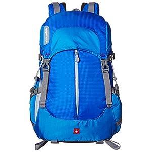 5156XfK7ojL. SS300  - AmazonBasics - Mochila para cámara, para senderistas - Azul