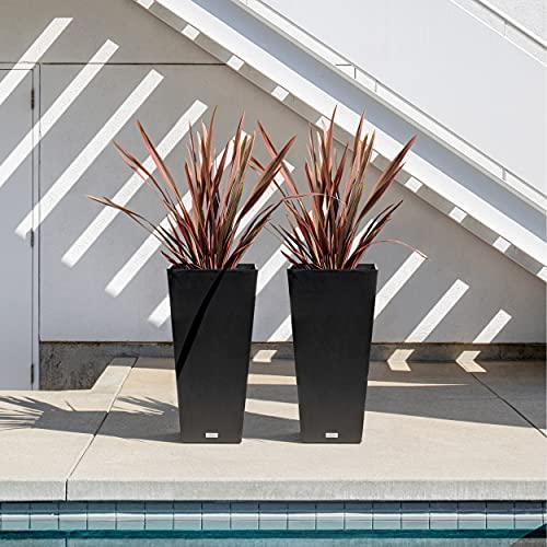 Veradek V-Resin Indoor/Outdoor Taper Planter