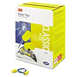 3M Aearo E-A-R Ear Plugs Classic Plus Yellow 200 pairs NRR 29 311-1105