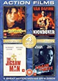 4 Action Film Box: Kickboxer, Fire On The Amazon, Train To Hell, The Jigsaw Man (Import)