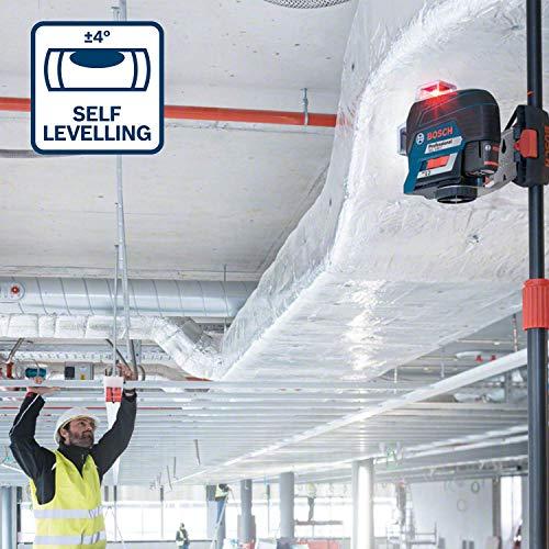 Bosch Professional Linienlaser GLL 3-80 C & Empfänger Set - 5