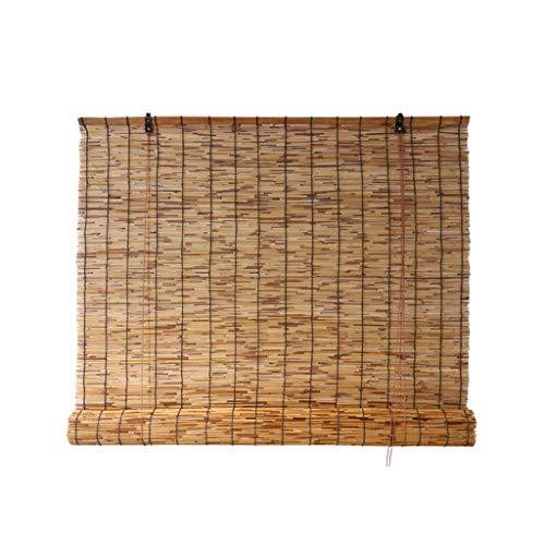 Bamboo curtain Tenda in Paglia per ombrellone, Tessuta a Mano, Parete Interna/Esterna/a Prova di umidità/Tenda di Sollevamento (Personalizzabile)