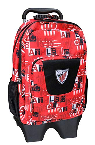 Athletic Club MC-74-AC Mochila con Trolley Extraíble Digits, 43 cm