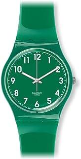 Swatch Unisex GG217 Classic Analog Display Swiss Quartz Green Watch