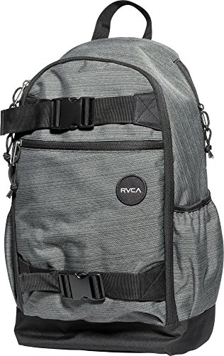 RVCA Men's Push Skate Backpack, Dark Charcoal, One Size