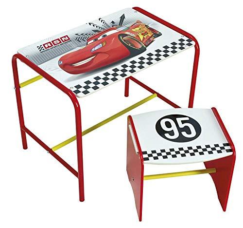 Disney Cars Kinder Schreibtisch und Hocker Sitzbank Maltisch Spieltisch