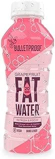 Bulletproof FATwater, Sugar-free Ketogenic Brain Octane and B Vitamins, Drink Fat Power Up (Grapefruit)(PACK OF 12)